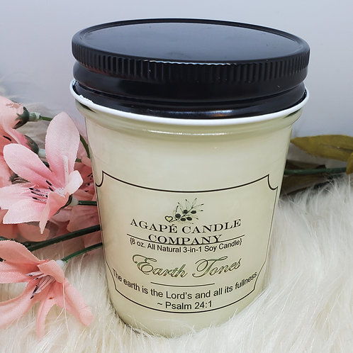Earth Tones - Lotion & Massage Candles