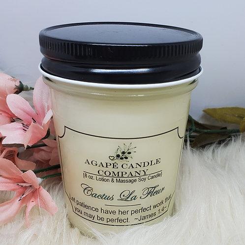 Cactus La Fleur - Lotion & Massage Candle