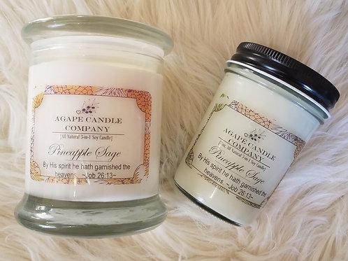 Pineapple Sage - Lotion & Massage Candle