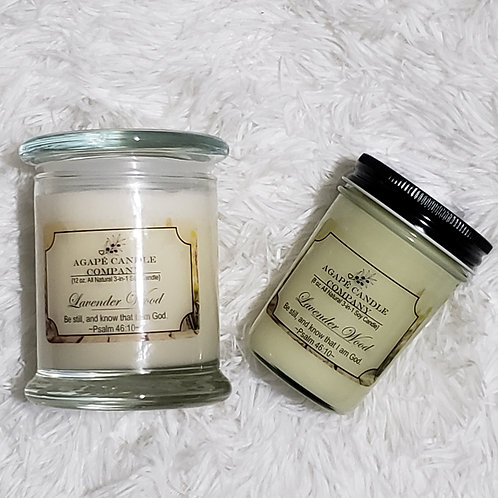 Lavender Wood - Lotion & Massage Candle