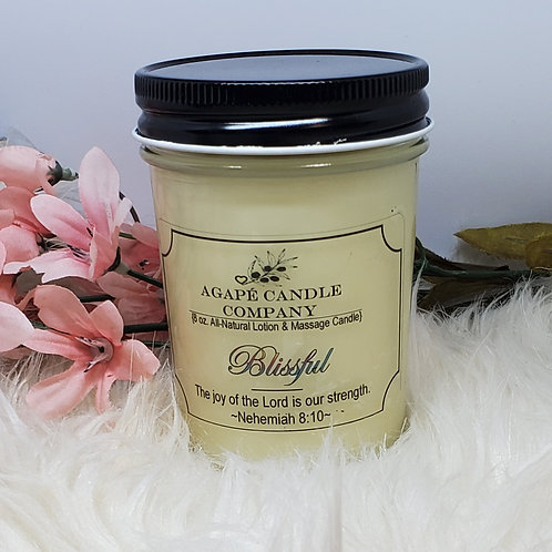 Blissful - Lotion & Massae Candle
