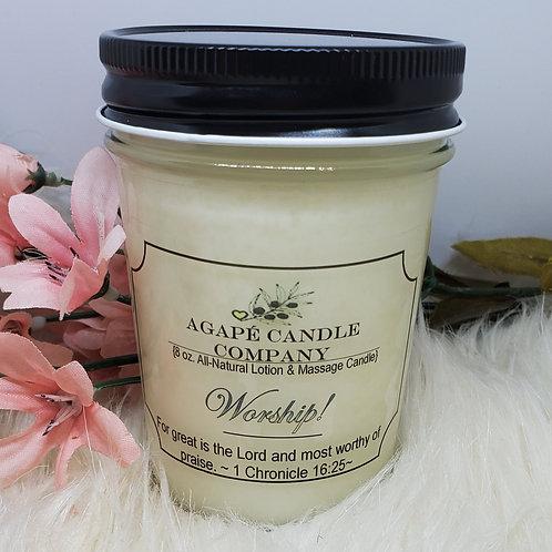 Worship - Lotion & Massage Candle