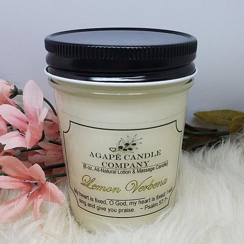 Lemon Verbena - Lotion & Massage Candle