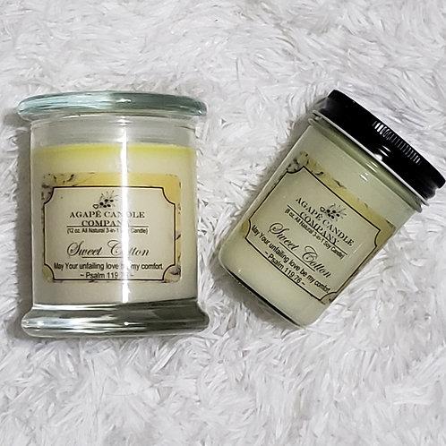 Sweet Cotton - Lotion & Massage Candle