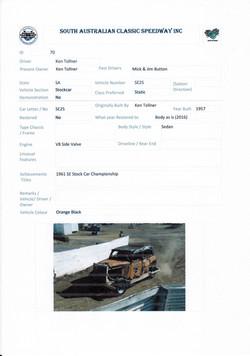 Ken Tollner Stockcar SE25