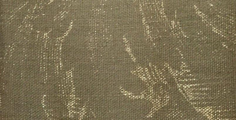 Gold Damask Fabric