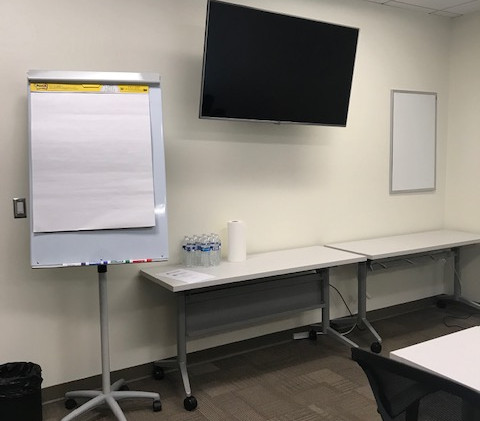 front view of training room