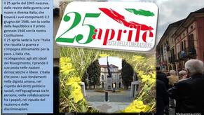25 Aprile 2021 Festa della Liberazione 76° anniversario
