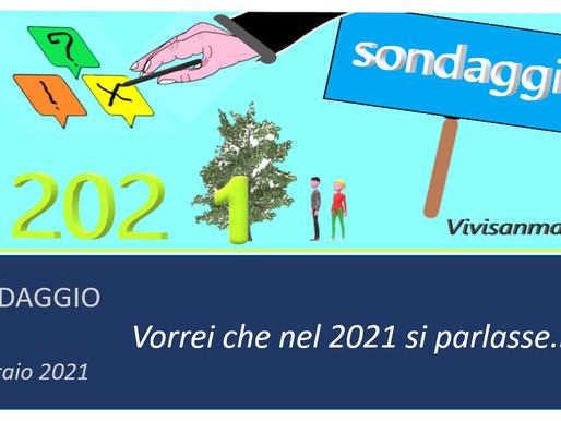 Primo Sondaggio del 2021 a cura dell'Associazione Vivisanmaurizio