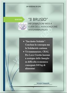 Il Brusio 16 rivista web a cura dell'associazione Vivisanmaurizio