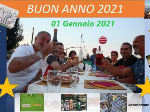 Buon Anno 2021 da tutto il gruppo dell'associazione Vivisanmaurizio