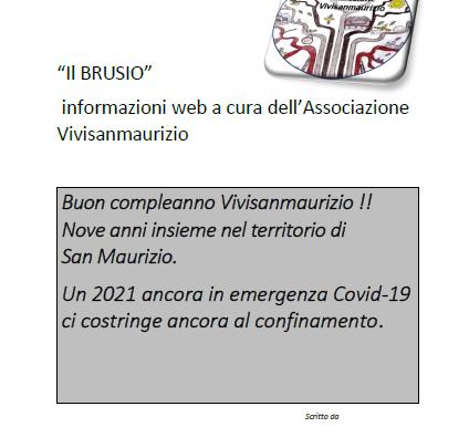 Vivisanmaurizio: 9 anni insieme nel territorio di San Maurizio Canavese