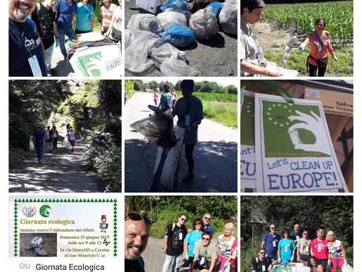 "Let's Clean Up Europa 2019""Giornata Ecologica a Ceretta"