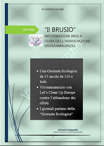 Notizie sulla Giornata Ecologica organizzata dall'associazione Vivisanmaurizio