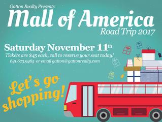 3rd Annual Mall of America Road Trip!
