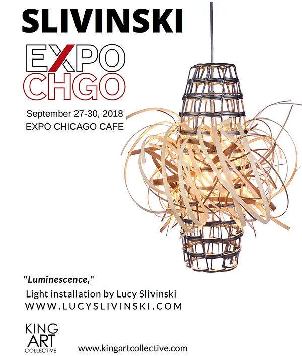 Lucy Slivinski Expo Chicago King Art Collective