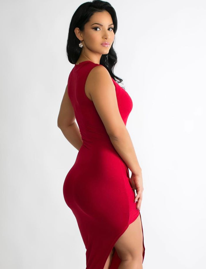 Lorena in red