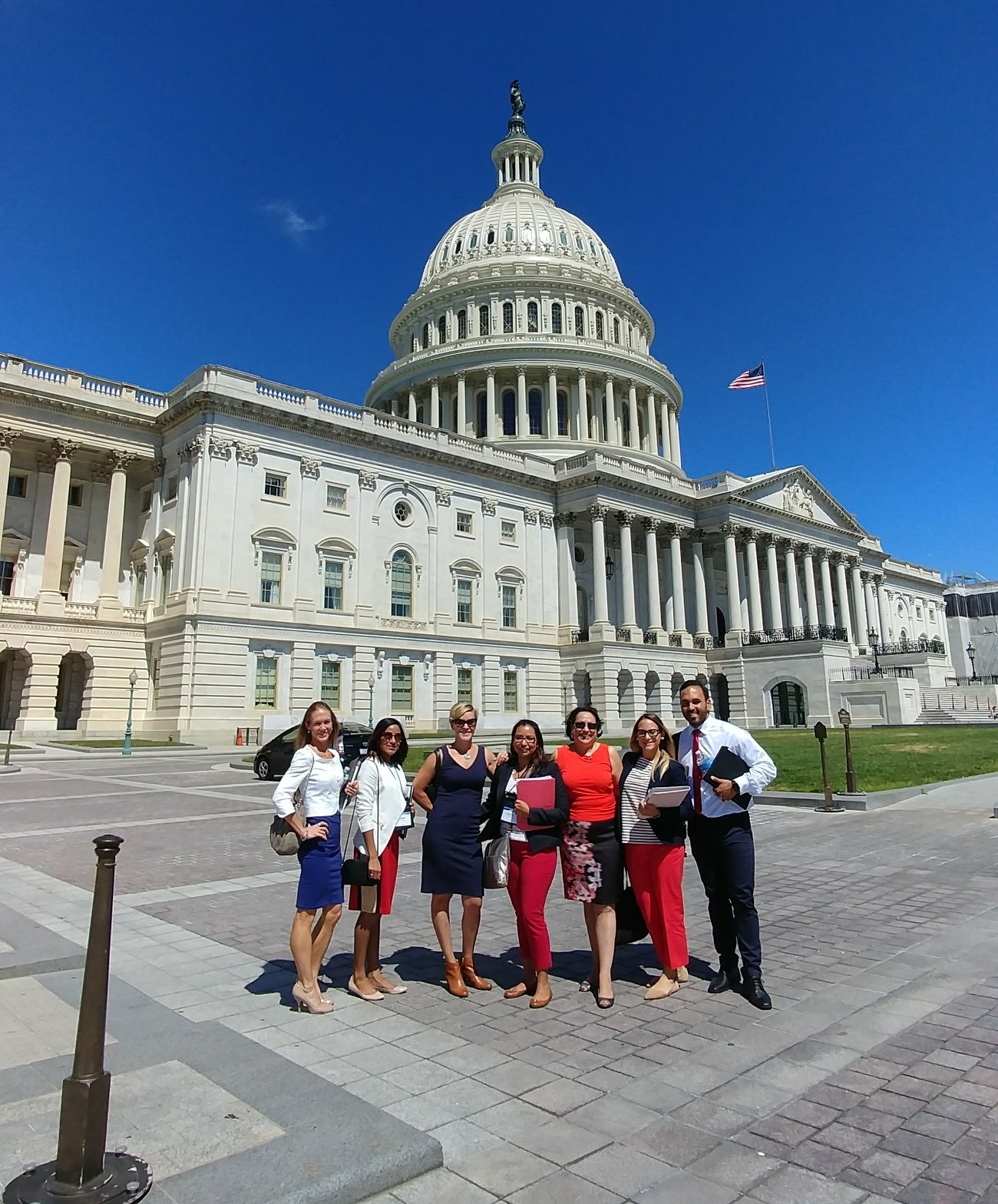 Lobbying in D.C. for Nutrition Policy