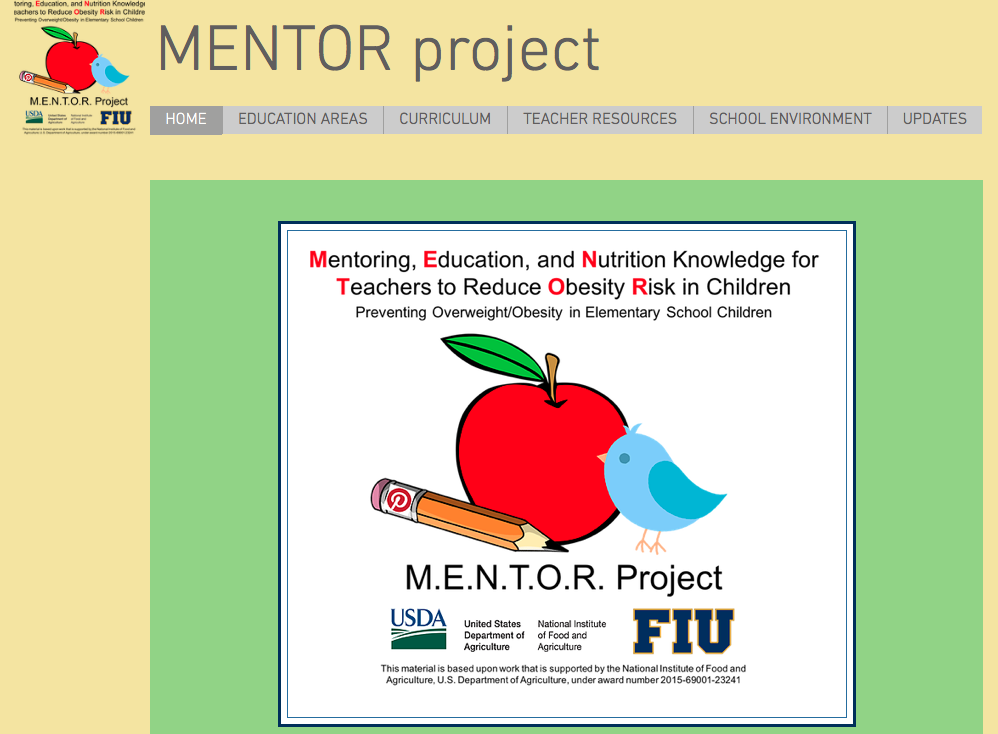 FIU Mentor Project (USDA)