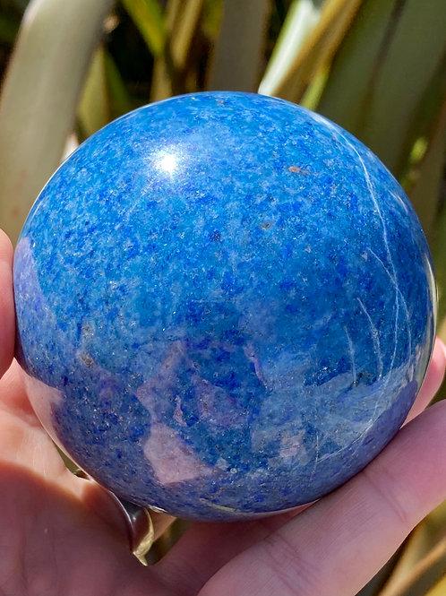 Azurite Sphere 1