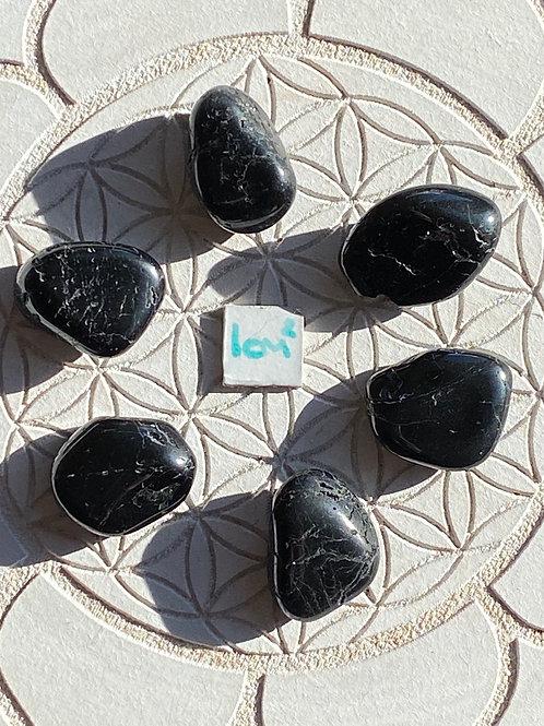 Black Tourmaline 6 Piece Grid Set