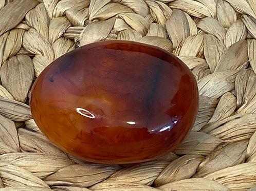 Carnelian Palmstone - 1