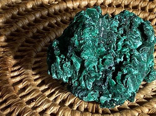 Malachite Silky Specimen