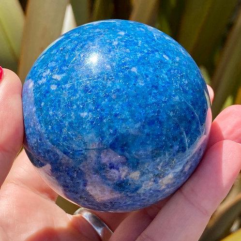 Azurite Sphere 4