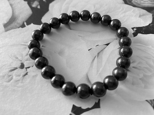 Shungite Bracelet - 8mm Beads