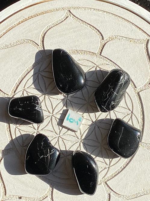 Black Tourmaline 6 Piece Grid Set - 2