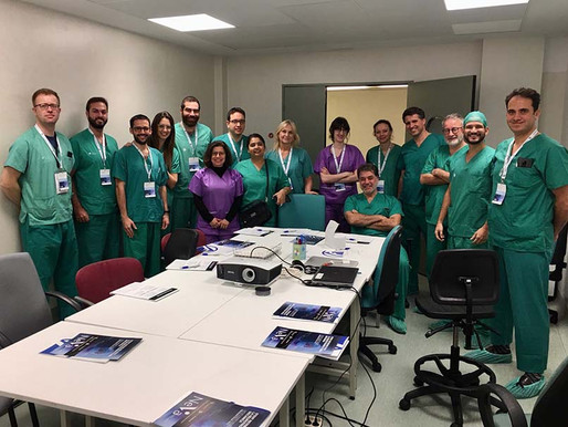 Another Successful Vesalio™ Clot Interaction Workshop in Barcelona
