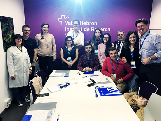 """25 new participants trained on """"doing the drop zone"""" at the VESALIO™ CLOT INTERACTION WORKSHOP"""