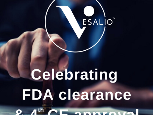 Vesalio Receives Peripheral FDA 510k Clearance and Additional CE Approval