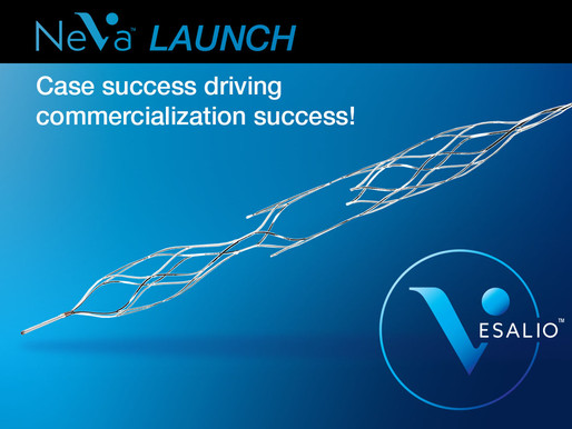 Vesalio Reports Expansion of Commercial Distribution, Additional Published Data on the NeVa™ System