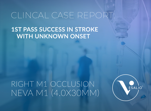 1st Pass In Stroke With Unknown Onset - Case Report