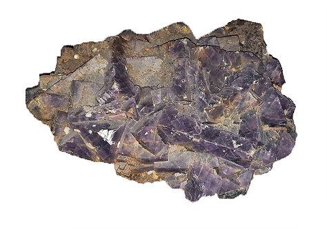 Large Natural Amethyst Cluster Geode