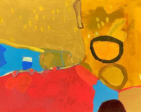 Bobsled by artist John Luckett
