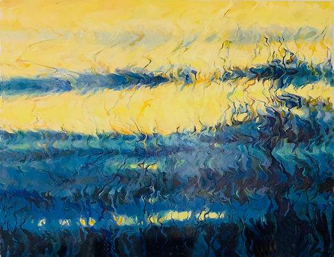 """""""When"""" by artist Janet Cass"""