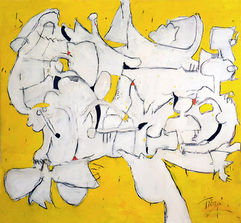 """""""Dubuffet On Tuesday"""" by TAIRA"""