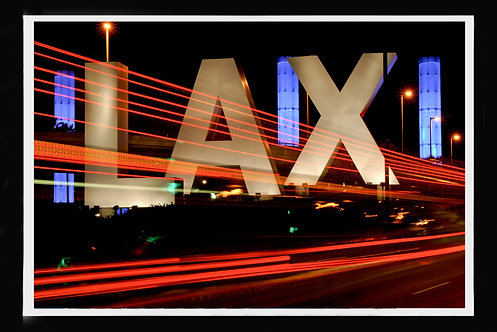 """Entrance to LA International Airport LAX"" by Gregg Felsen"