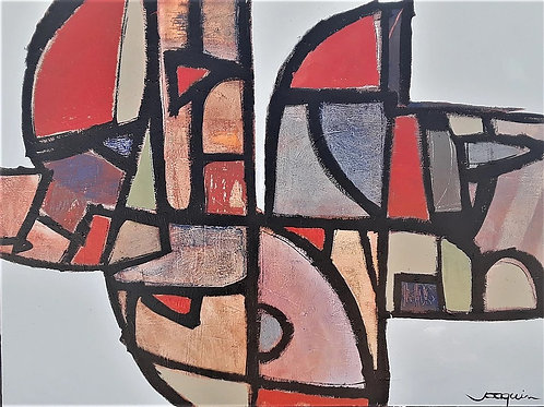 Stained Glass Gone Awry by Kenneth Joaquin