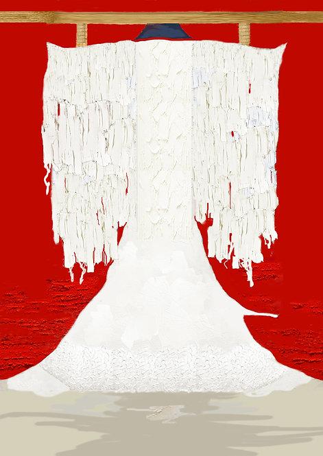 """""""Snow Falling On Frozen Lake"""" by R.de Lancret"""