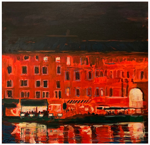 """""""Venice In Red"""" by Michael L. Jacques"""
