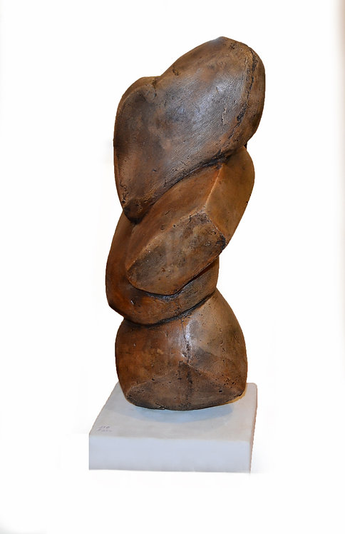 "Abstract ""Twisted Form"" Sculpture Study  by Scott Donadio"