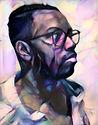 Portrait of Nichy Farmearl _ 40X26 _ 201