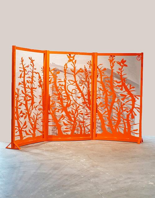 Custom Garden Screen by Sandra Vlock