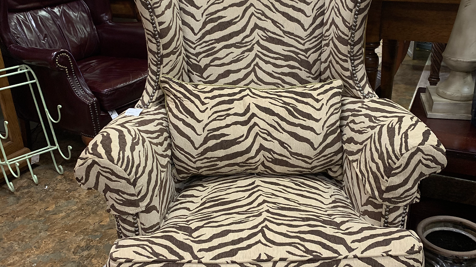 Zebra Chair by Drexel ***SOLD***
