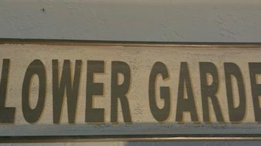 Wooden Flower Garden Sign ***SOLD***