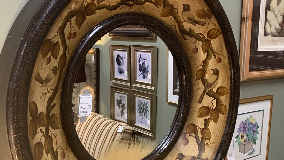 Twigs Round Mirror