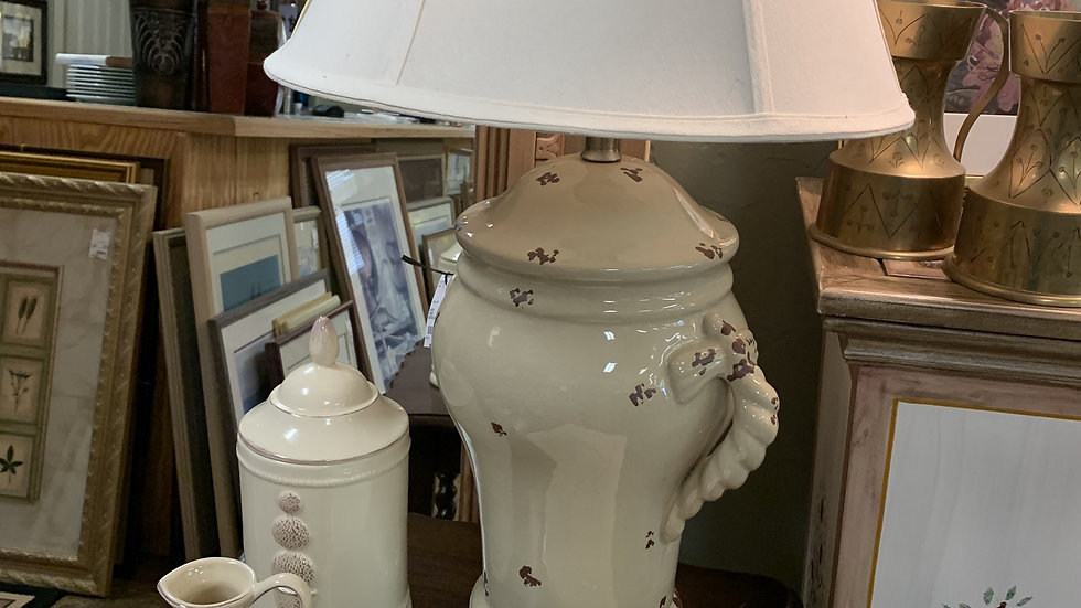 Pottery Lamp ***SOLD***